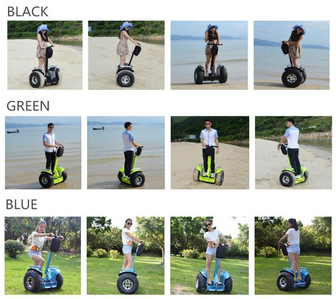 72v 8.8ah Electric Self Balancing Scooters , Stand On Scooter With 2 Wheels