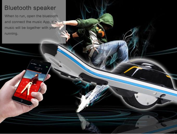 Samsung Battery Bluetooth One Wheel Electric Unicycle 6.5 Inch Motor 500W