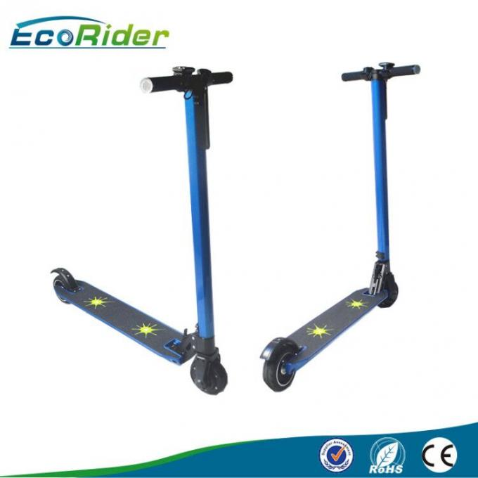 European market folding mini e scooter / lightest 2-wheel carbon folding electric scooter