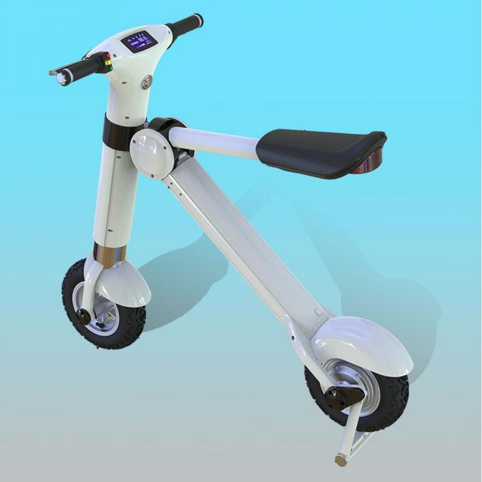 12 Inch Disc Brake Foldable Electric Scooter / Bicycle For Adults 35KM/H