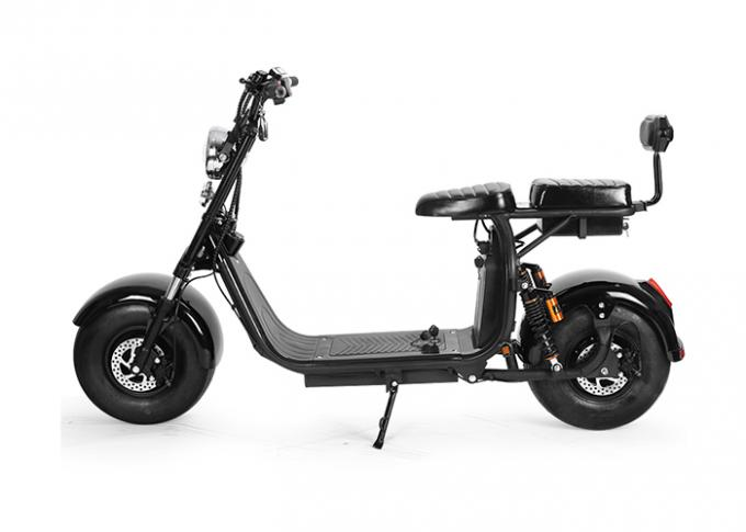 Self Balancing 2 Wheel Electric Scooter Max Speed 40 Km/H With Double Seat