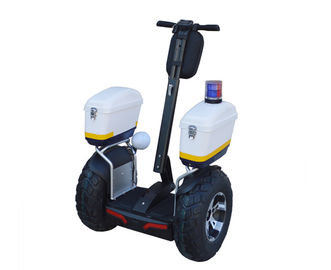 China Off Road Segway Electric Scooter With 4000 Watt Max Power For Mall Security Guard supplier
