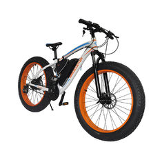 China Cheap 350W fat tire electric bike, 26inch alloy electric bicycles  with lithium battery and pedal assistance supplier