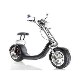 China Harley Electric 2 Wheel Scooter / Motorized Two Wheel Scooter With Double Seat supplier