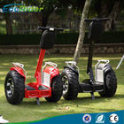 China Off road 2 wheel balancing scooter with 60-70KM Max Range , 100V - 240V factory