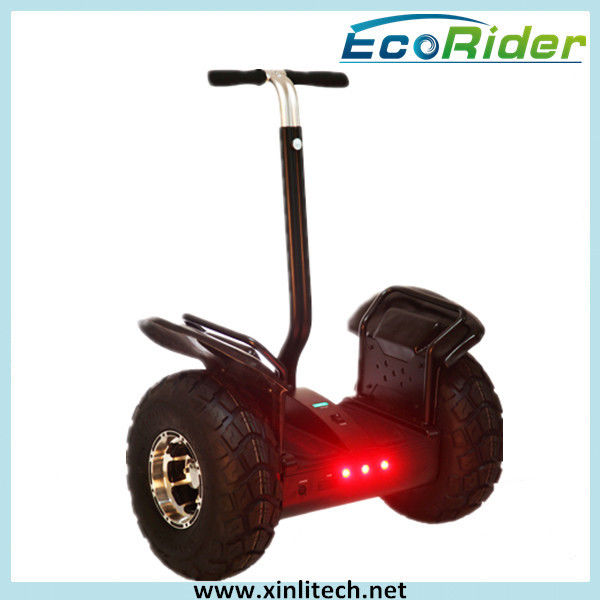 Patrol Segway Two Wheel Scooter Waterproof Rubber Ring With LED Light