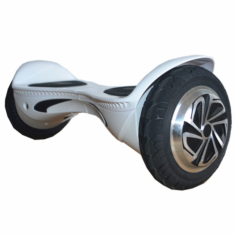 white two wheel hoverboard scooter 350w 10km h max. Black Bedroom Furniture Sets. Home Design Ideas