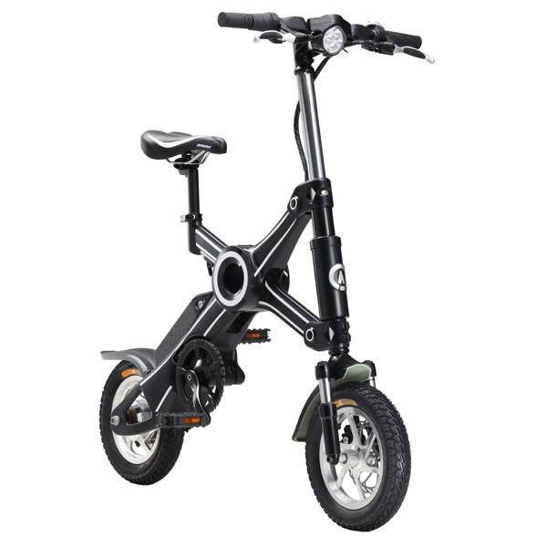 Easy rider two wheel fold away electric scooter / adult foldable electric bicycle
