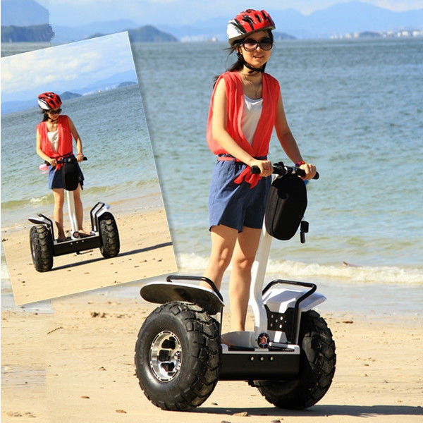 Electric Gyropode Off Road Segway Personal Transportation Vehicles 72V 8.8Ah Samsung Lithium