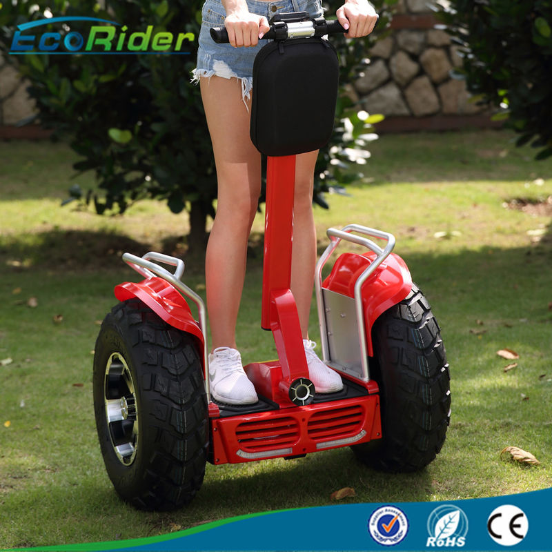 Two Wheel Off Road Segway Self Balancing Scooters APP Bluetooth 4000W Max Power