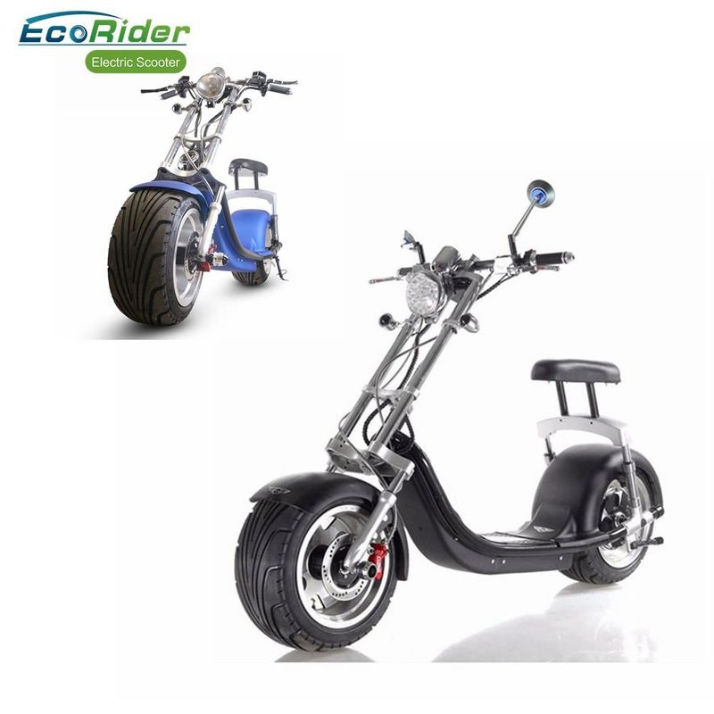 1200W Fat Tire Adults Citycoco Electric Scooter With Two