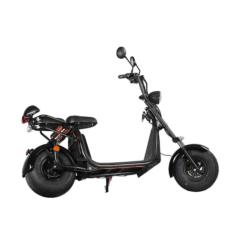 No Foldable Two Wheel Standing Scooter , 2 Wheel Scooter Electric 35-70km Range Per Charge