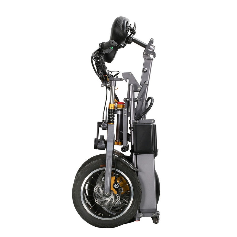 350w E Bike Lithium Battery Electric Scooter 3 Wheel 14 Inch With LED Light