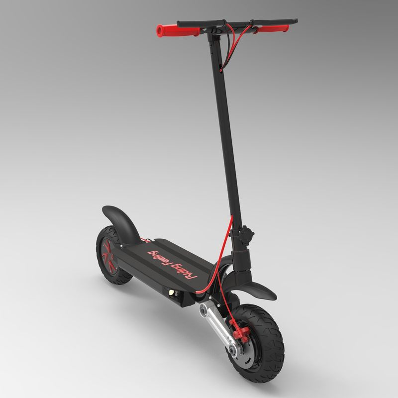 Folding 2 Wheel Electric Scooter 2000W 48V Kick Skateboard Off Road With Dual Motor