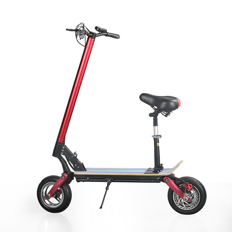 "EcoRider max speed 40km/h 10"" Folding 2000W 48V 10.4ah electric Scooter for adult"