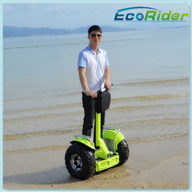China Apple Green Lithium Battery Electric Scooter 2 Wheel / Standing Up Electric Scooter factory