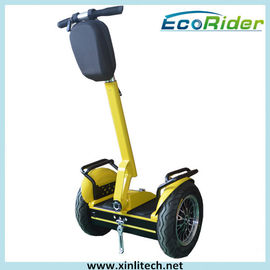 China City Model Yellow Balance Electric Scooter / 2 Wheel Electric Standing Scooter 2000W 72V factory