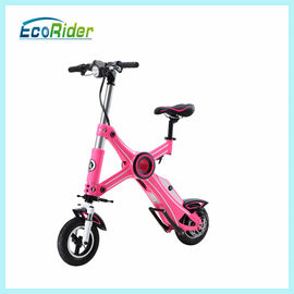 China Fashion Pink Foldable Electric Scooter 36V 10 inch with Seat factory