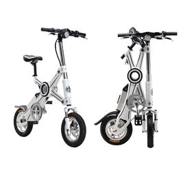 China 12 Inch Foldable Electric Scooter Brushless Motor Lightweight Folding Bike factory