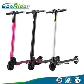 China 5 Inch Carbon Fiber Electric Scooter Foldable 250W With LCD Screen factory
