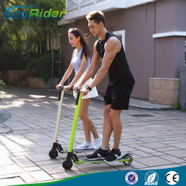 China Carbon Foldable Electric Scooter with 350 Watt Brushless Motor , Electric Kick Scooter factory