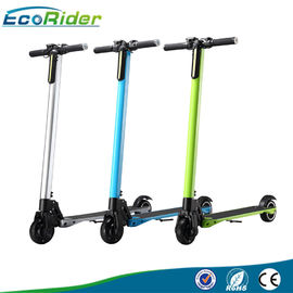 China 2 Wheel Foldable Electric Scooter For Adults , Multi Color Folding Travel Scooter factory