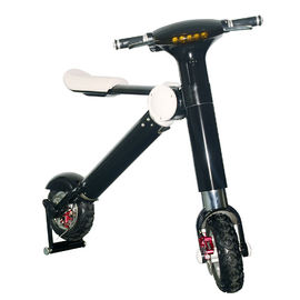 China Black / White Patent ET Two Wheel Foldable Electric Scooter With 250W / 350W / 500W Motor factory
