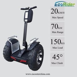 China 21 Inch Off Road Segway Electric Scooter Ecorider 4000W Brushless 2 Wheel Balance Scooter factory