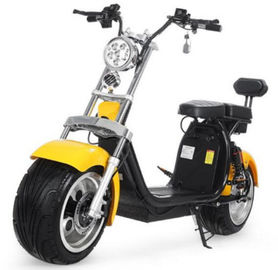 China EcoRider 18inch Big Tire 60V 1500w 2 Wheel Electric Harly Scooter With Shock Absorber factory