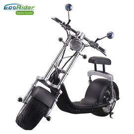 China 1200w 60v 12ah Balance Electric Scooter Citycoco Harley Scooter With Turning Lights factory