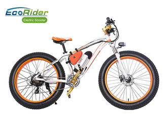 China Fat Tire 2 Wheel Electric Bike 26 Inch Suspension Top High Rate Motor 48V 350W factory
