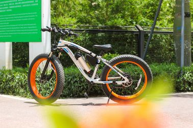 China High Rate Motor 26 Inch Suspension Snow Electric Bicycle With Aluminum Alloy Frame factory