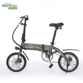 China Smart Foldable Electric Biker 2 Wheel Electric Bike With Removeable Lithium Battery factory