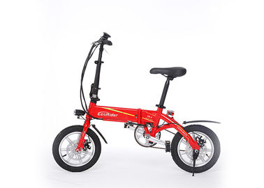 China Lightweight Electric Bike Max Range 35Km Drive Mode Full Pas Electric Bicycle factory