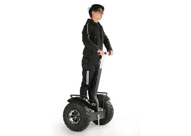 China 19 Inch Two Wheel Adult Electric Scooters , Auto Balance Scooter Vacuum Tire Black factory