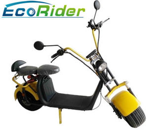 China 1500w Electric Citycoco Lithium Battery Electric Scooter Vin Number Fat Two Wheels factory