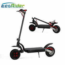 2 Wheel Electric Foldable Electric Scooter 2000w Brushless Motor With Double Battery