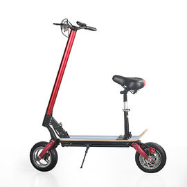 "China EcoRider max speed 40km/h 10"" Folding 2000W 48V 10.4ah electric Scooter for adult factory"